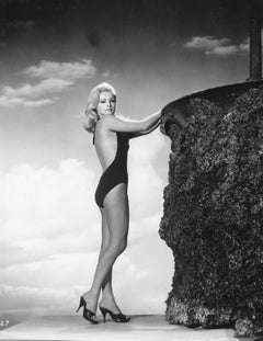 Virna Lisi Posed in Swimsuit Vintage Original Photograph