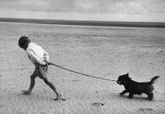 Walking The Dog (1959) - Silver Gelatin Fibre Print