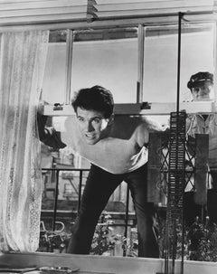 Warren Beatty Leaning in Window Fine Art Print