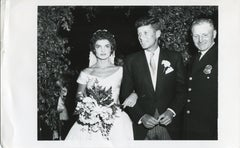 Wedding John F. Kennedy & Jacqueline Kennedy - Official Press