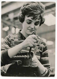 Women at Work - Historical Photograph About Women Rights - 1960s