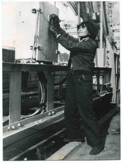 Women at Work - Historical Photograph About Women Rights - 1978