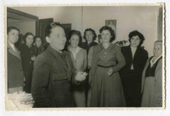 Women at Work - Vintage Photograph About Women Rights - 1953