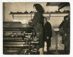 Women at Work - Vintage Photograph About Women Rights - 1960s