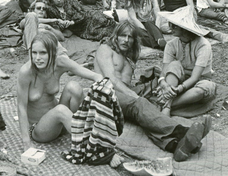 Woodstock, Visitors - Photograph by Unknown