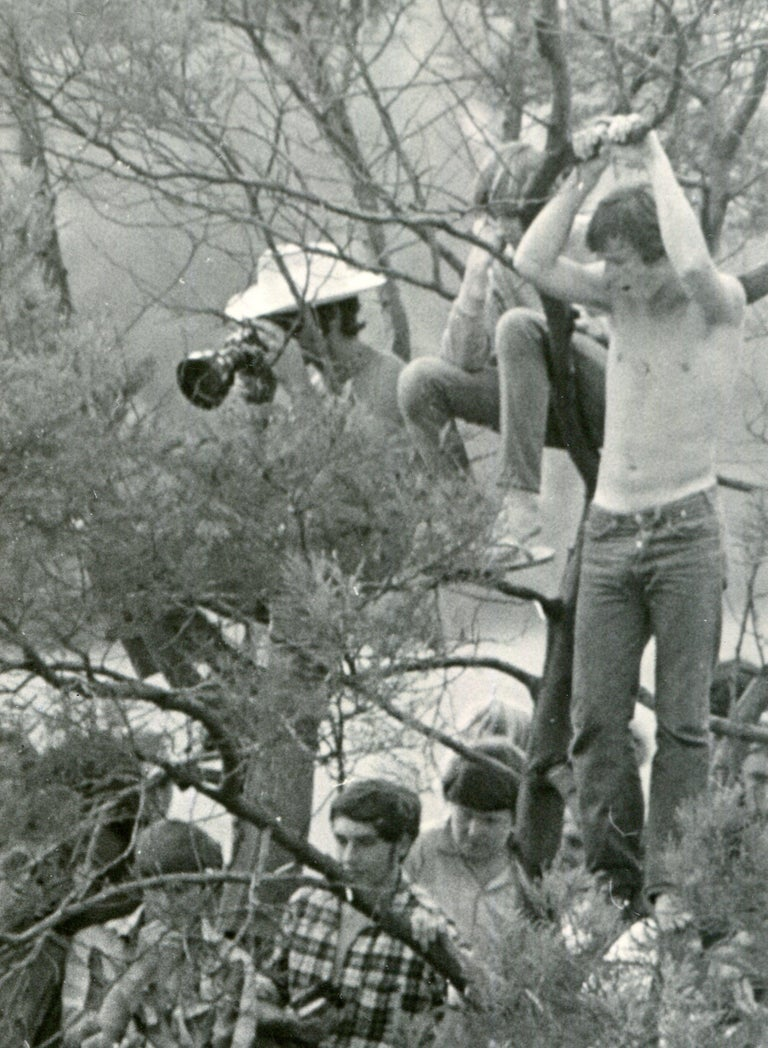 Woodstock, Visitors - Modern Photograph by Unknown