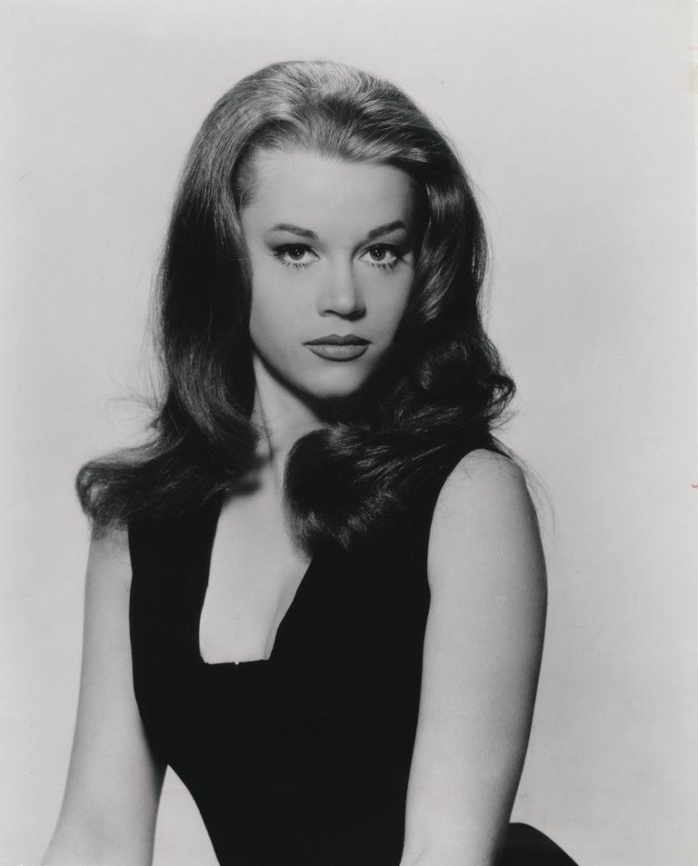 Unknown Black and White Photograph - Young Jane Fonda in the Studio Fine Art Print