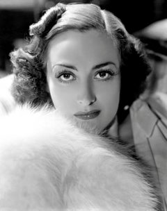 Young Joan Crawford in Fur Globe Photos Fine Art Print