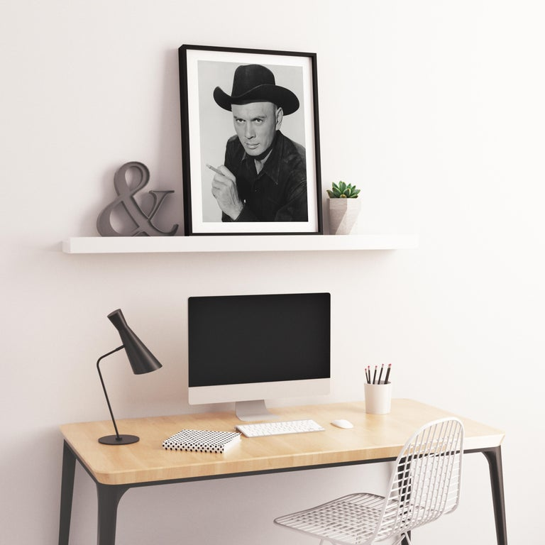 Yul Brynner in The Magnificent Seven Fine Art Print For Sale 2