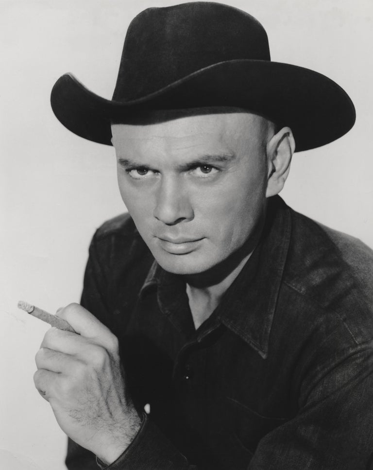 Unknown Black and White Photograph - Yul Brynner in The Magnificent Seven Fine Art Print