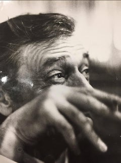 Yves Montand - VINTAGE PHOTOGRAPH - BLACK & WHITE PHOTOGRAPHY