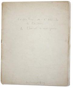 1939 Unknown 'Exposition de l'Affiche en couleurs de Cheret a nos jours' White