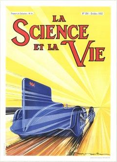 1990 Unknown 'La Science et La Vie' Multicolor,Yellow France Lithograph