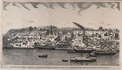 19th Century Blue Stone Works, Hudson River, Malden, New York State