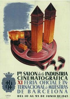 1er Salon Industria Cinematografica original Cinematography poster
