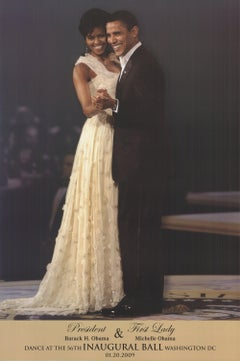 2009 Unknown 'Barack and Michelle Obama' Photography USA Offset Lithograph