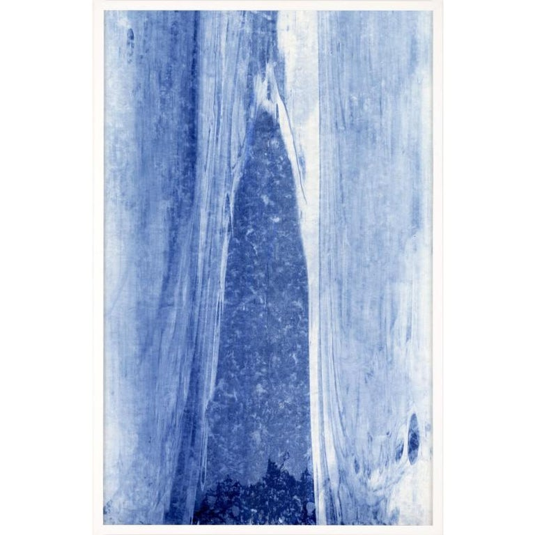 Unknown Abstract Print - Abstracted Landscapes, blue no. 6, unframed