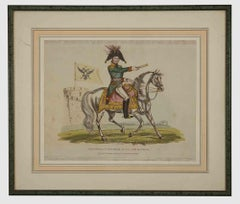 Alexander Emperor - Original Lithograph - 1816 ca.