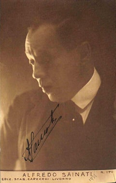 Alfredo Sainati - Original Photograph - 1920s