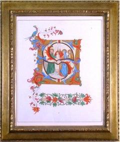 "Alphabet Letter ""S"", Saint, Religious"