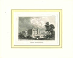 Ancient of Schloss Friederichsburg - Lithograph on Paper - Early 19th Century