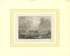Ancient View of Arnheim - Original Lithograph on Paper - Early 19th Century