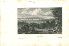 Ancient View of New York - Original Lithograph - 1850