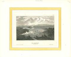 Ancient View of San Francisco in November 1848 - Original Lithograph - 1850s