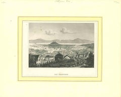 Ancient View of San Francisco - Original Lithograph - 1850s