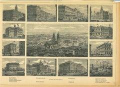 Ancient Views of San Francisco - Original Lithograph - 1850s