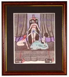 Bal de l'Internat - Original Lithograph by French Artist - 1921