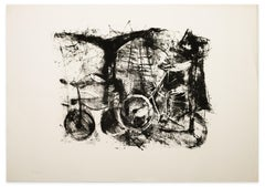 Bicycles - Original Lithograph - 1970s