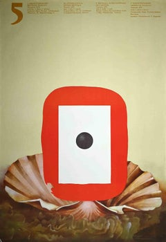 Biennale Warszawa - Vintage Poster - 1974