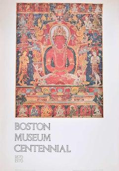 Boston Museum Centennial poster 1970 Mandala of Eight Bodhisatlvas