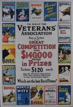 Bovril vintage poster - Which are the Best Canadian Veterans Association