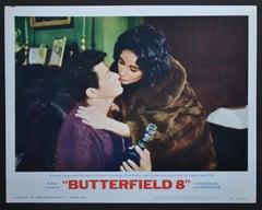 """BUTTERFIELD 8"" Original American Lobby Card of the Movie, USA 1960."
