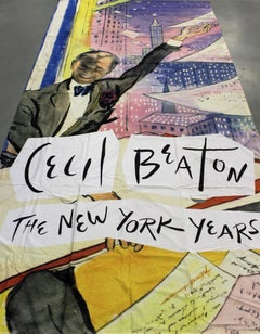 """""""Cecil Beaton's New York Museum Banner"""""""