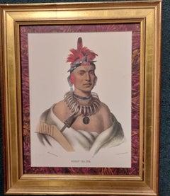 Chono Ca Pe, An Ottoe chief,