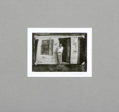 """""""Cirdan, Tuolomne County 1934"""" - Figurative Lithograph"""
