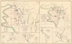 Civil War Map: Gettysburg and Antietam