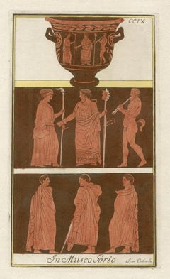 Classical Greek Vase-Painting Engraving by Passeri