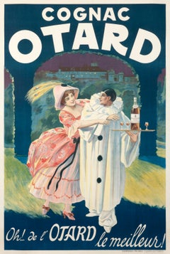 """Cognac Otard"" Original Vintage Poster"