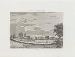 Colmar - Original Etching - 19th Century