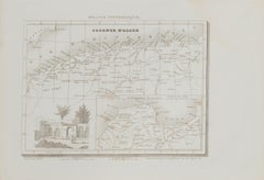 Colonie d'Alger - Original Etching  - 19th century
