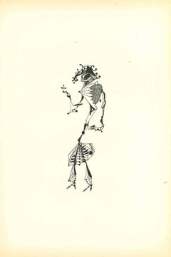 Composition Of Diodora - Original Lithograph by Bruno Capacci - 1950