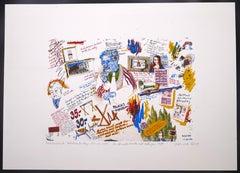 Composition - Original Etching 1974