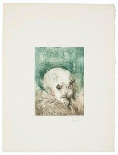 Composition - Original Etching - 20th Century