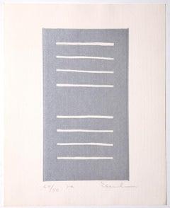 Composition - Original Lithograph - 1980s