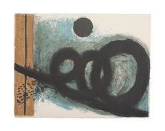 Composition - Original Lithograph - 20th Century