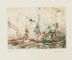 Composition - Original Monotype - 20th Century